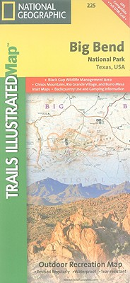 National Geographic Trails Illustrated Map Big Bend National Park